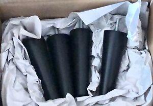 IKEA STRANDMON BEINE (schwarz) für Sessel (Tullsta, Strandmon) Fusshocker Hocker