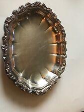 Countess International Silver Company Serving Platter Tray