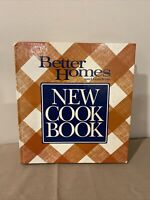 Vintage 1989 Better Homes And Gardens - New Cookbook Hardback Edition
