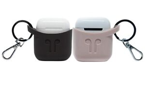 NEW! PodPocket Keyring Silicone Protective Carrying Case for Apple AirPods