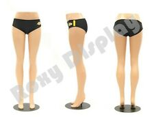 Plastic Unbreakable Female Mannequin Legs Brazilian hips Roxy Display #PS-LG101