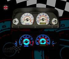 Rover 25 Interior Speedo Gauge Dash Panel Ampoule éclairage Mise à niveau Cadran Blanc Kit