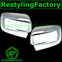 Chrome plated Full ABS Mirror Cover a pair for 09-17 Dodge Ram