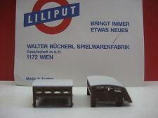 LILIPUT # 86261 2 Dach Aufsatz Bremserhaus für Packwagen CIWL Orientexpress