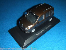 Mercedes Benz C 415 Citan Estate/Crew Bus Limonite-Brown/Brown 1:43 New/New