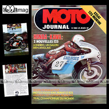 MOTO JOURNAL N°280 BMW R100 RS TROPHEE NATIONS JEAN-JACQUES BRUNO EVERTS 1976