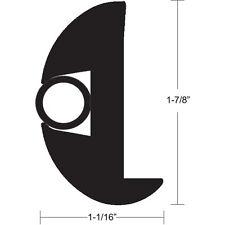 """TACO Flex Vinyl Rub Rail Kit - Black w/Black Insert - 70' - 1-7/8"""""""" x 1-1/16"""""""""""