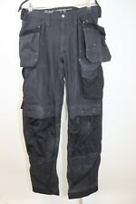 Snickers  Man's Cargo 3214 Cordura  Trousers Holster Pockets Work Pants sz 146