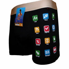 Funny Smartphone Mobile Sexy Men Boxer Shorts Pants Prank Joke Birthday Gift
