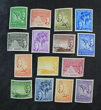 Ckstamps: Gb Stamps Collection Seychelles Scott#157-171 Mint H Og