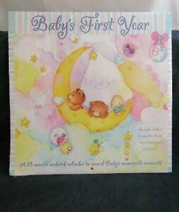Baby's First Year Sticker Calendar - by DateWorks Unused - Undated