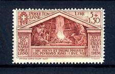 ITALIA - Regno - 1930 - Bimillenario della nascita di Virgilio - lire 5 + 1,50