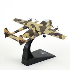1:200 UK 1970 Armstrong Whitworth AW660 Argosy Freighter Diecast Aircraft Model