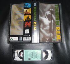VHS REM R.E.M. Tourfilm Tour Film Live Michael Stipe Green Tour Rock