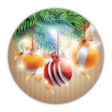 24-pack 40mm Décoration de Noël Xmas autocollants stickers les cartes de décoration idéal