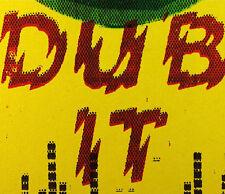 "halftone DUB tubby XRAY music KING siren SOUND vinyl SYSTEM street ART print 12"""