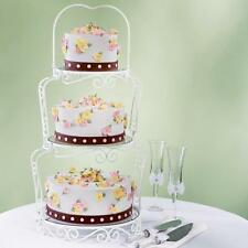 Wilton Graceful Tiers Cake Stand, Wedding Cake Stand, 3 Tier Cakestand,