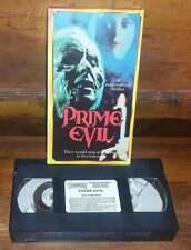 VHS Prime Evil 1990 R&G Video Horror VG