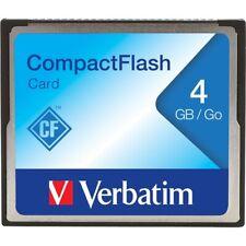 Verbatim Corporation 95188 4Gb Compact Flash Cf Card Memory