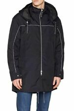 Armani Exchange men's removable hood parka size XL - Oversized, unlined