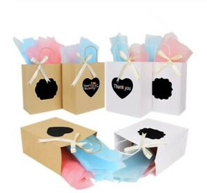 6 Pcs Bridal Wedding Party Gift Bags Bridesmaid Bride Bachelorette Party Bags