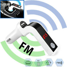 Auto LED MP3 Player FM Transmitter Modulator Dual USB Charging SD MMC Remote