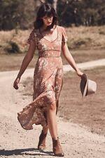 BNWT Spell Designs ROSA Garden Party Dress Camel - Size L