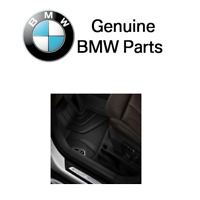 For BMW F48 X1 Front All Season Rubber Floor Mats Genuine