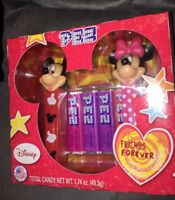 PEZ Disney Mickey & Minnie Mouse Friends Forever Candy Dispensers NEW 2018