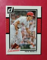 2014 Donruss #192 PETE ROSE (Cincinnati Reds) (MINT) *HIT KING* FREE SHIP!! WOW!