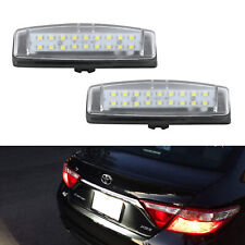 For Toyota Prius Echo Yaris Camry Lexus IS300 IS200 LED License Plate Light 2pcs