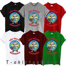Los Pollos Hermanos T shirt  Breaking Bad Heisenberg Walter White T Shirt