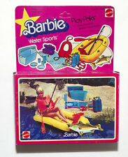 "VINTAGE BARBIE PLAY PAKS ""WATER SPORTS"" #3273 HTF 1980 BARBIE"