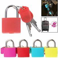 4X 23mm Mini Small Padlock Home Door Travel Suitcase Luggage Bag Padlocks Lock