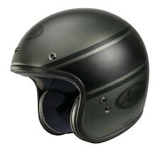Casco jet ARAI FREEWAY CLASSIC NEW MODEL BANDAGE GREEN - AR9930BG - taglia m