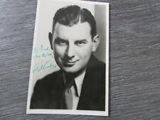 Ralph Reader Producer Writer Choreographer Original Hand Signed Picture
