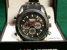 Wosshimo Water Resistant, alarm, chronograph Man's Quartz wrist watch.
