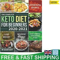 Keto Diet Book For Beginners Quick Healthy Ketogenic Recipes 2020-2021 Cookbook