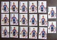 Equipe LAMPRE DAIKIN 1999, 17 Cartes Cyclisme