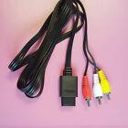 AV RCA Vídeo Audio Cable TV PARA SUPER NINTENDO SNES N64 64 GAMECUBE consola