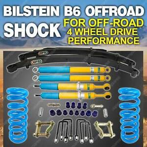 Bilstein Shock Coil EFS Leaf 50mm Lift Kit for Mitsubishi Triton ML MN 06-on
