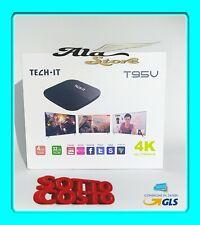 T95V 4K WIFI 1080P DECODER ANDROID 7.1 QUAD CORE BLUETOOTH 4GB SMART BOX TV