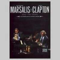 Play The Blues Live Jazz At - Marsalis & Clapton DVD & CD Set Sealed ! New !