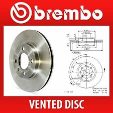 Brembo Easy Check Pair Vented Front Brake Discs 09.5843.34
