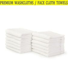 â� Premium Washcloth Towel Set, 100% Super Soft Cotton 24 Pack 13 x 13 Inch White