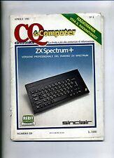 CQ ELETTRONICA & COMPUTER # N.4 - N.220 Aprile 1985 # Ed. CD # Rivista Mensile