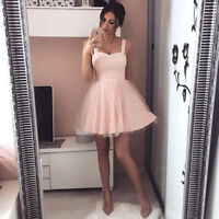 Women Formal Wedding Long Evening Party Ball Prom Gown Cocktail Bridesmaid Dress