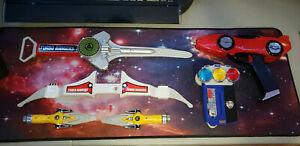 Power Rangers Bandai Power Blaster Auto Blaster Synergizer & More COMBO Weapons