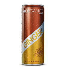 Red Bull Organics Ginger Ale  | 1 Tray - 24 DOSEN | á 250ml (€ 0,76 pro 100 ml)