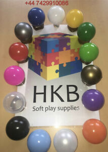 500 BRAND NEW SOFT PLAY BALLS -BALL PIT, POOL , COMMERCIAL GRADE CE 8cm